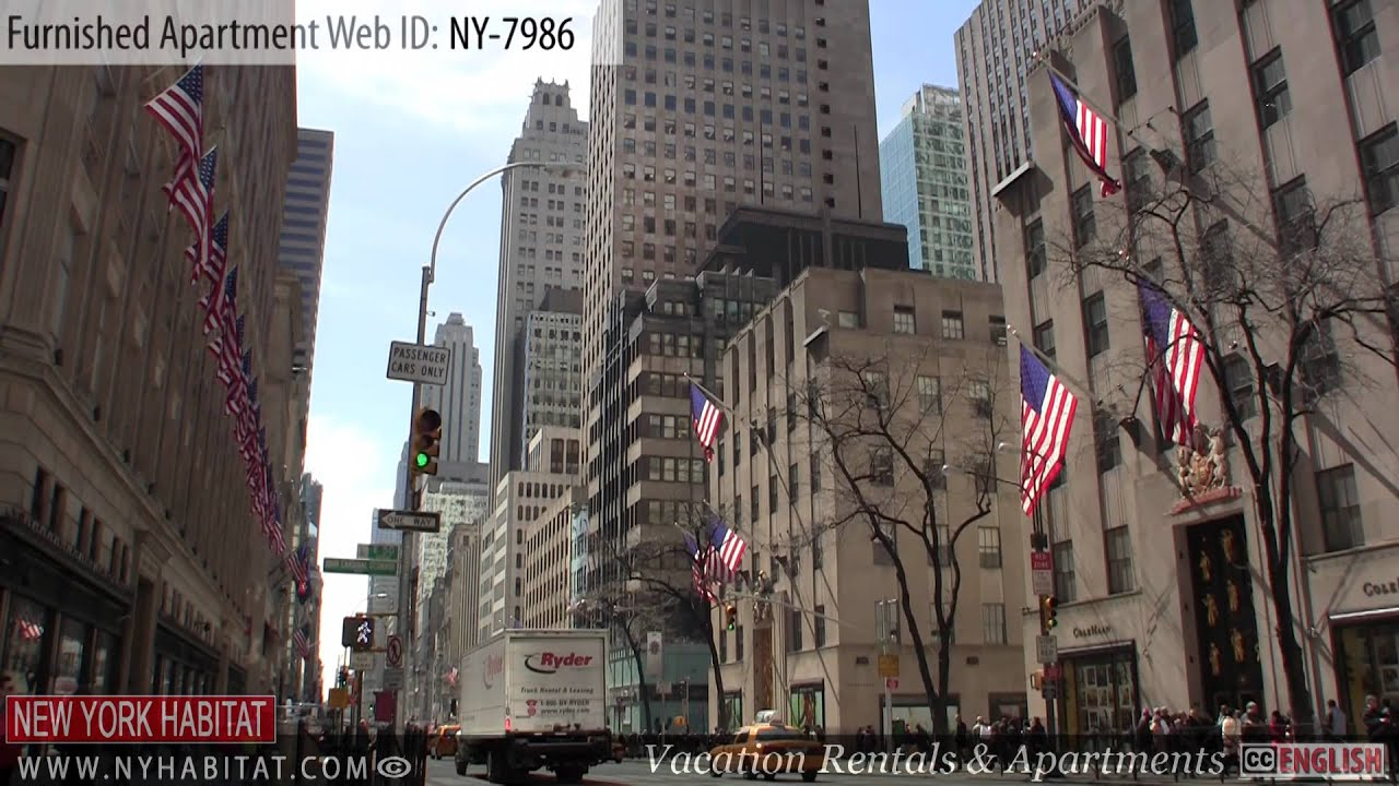 manhattan new york video tour of a furnished apartment on east
