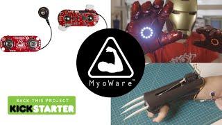 MyoWare Kickstarter Introduction
