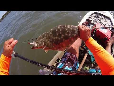 Jensen Beach Kayak Fishing Charters Flounder Trout