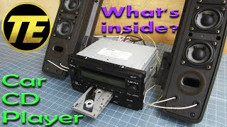 What's inside Car CD Player - Toyota FH M8207