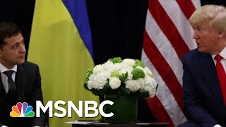 Trump Asks Ukraine President To 'Do Us A Favor' | Morning Joe | MSNBC