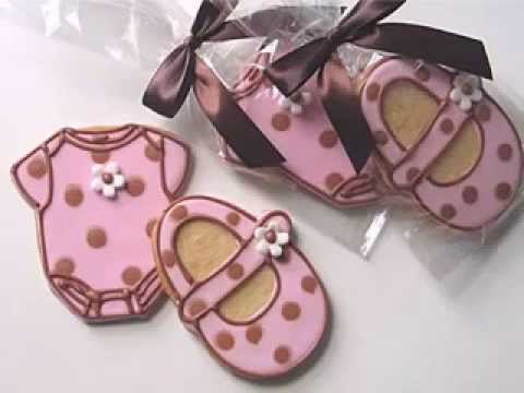 Diy Baby Shower Cookies Decorating Ideas Youtube