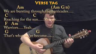 This Is Me (The Greatest Showman) Strum Guitar Cover Lesson in C with Chords/Lyrics