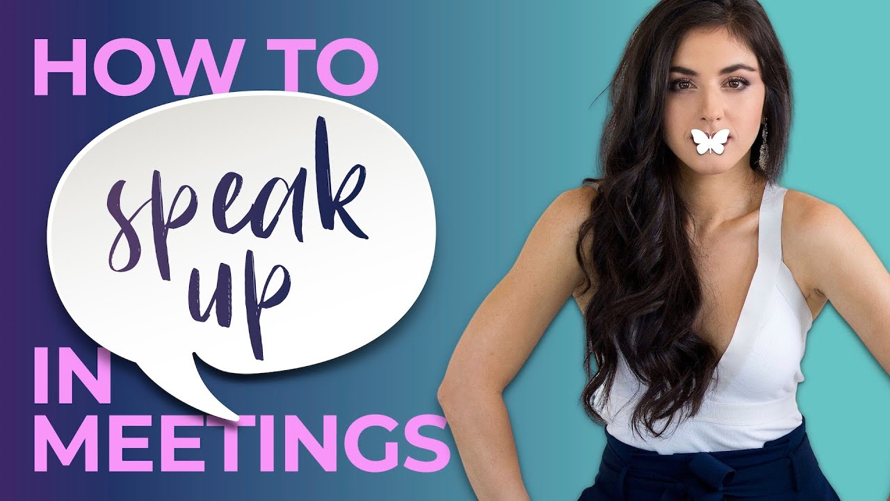 Ep. 20 How to Speak Up in Meetings (Reprise)