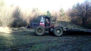 Kockums 822 (lkt ursus mtz Ciagnik leśny Sumski traktor debardage Skogsmaskiner Knickschlepper )