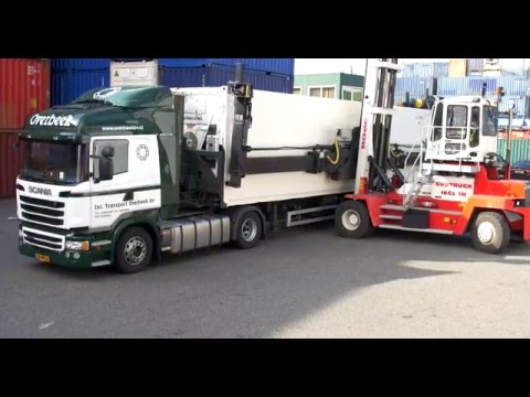 Film Overbeek specialist in  container transport, depot, ver