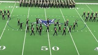 The Emerald Belles perform a production routine to a Bruno Mars mix at The Star in Frisco