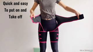Workout Thigh and Waist Trainer for Men and Women