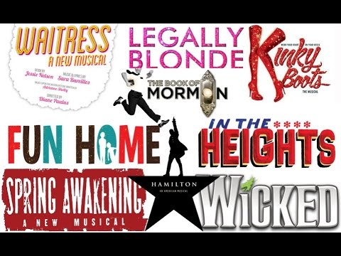 Best Musicals Since 2000