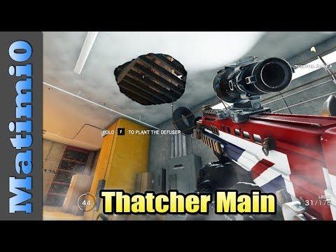 Thatcher Main - Rainbow Six Siege