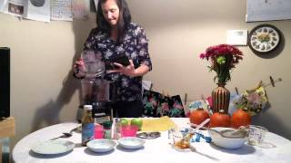 Hot Raw Chef Natalie Allinder Salted Caramel Apple Walnut Crumble