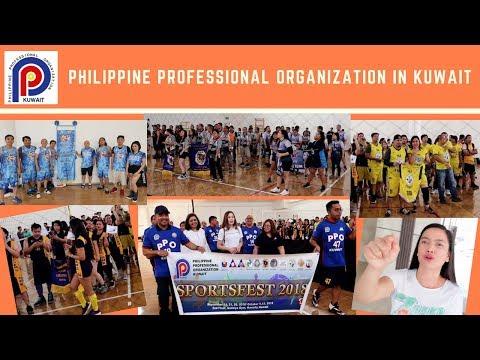 PHILIPPINE PROFESSIONAL ORGANIZATION IN KUWAIT SPORTS FEST KICK OFF