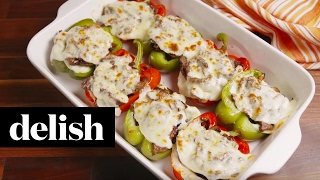 Cheesesteak Stuffed Peppers  Delish