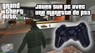 TUTO • Jouer à GTA V PC avec une Manette de PS3