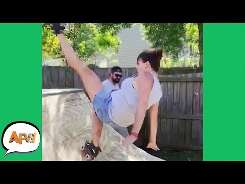 Ramps And Roller-Skates?! BAD IDEA! 😅 | Fails of the Week | AFV 2020