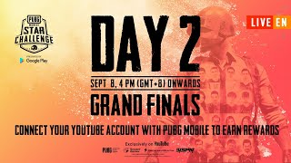 [EN] PMSC 2019 Grand Finals Day 2 | PUBG MOBILE Star Challenge 2019
