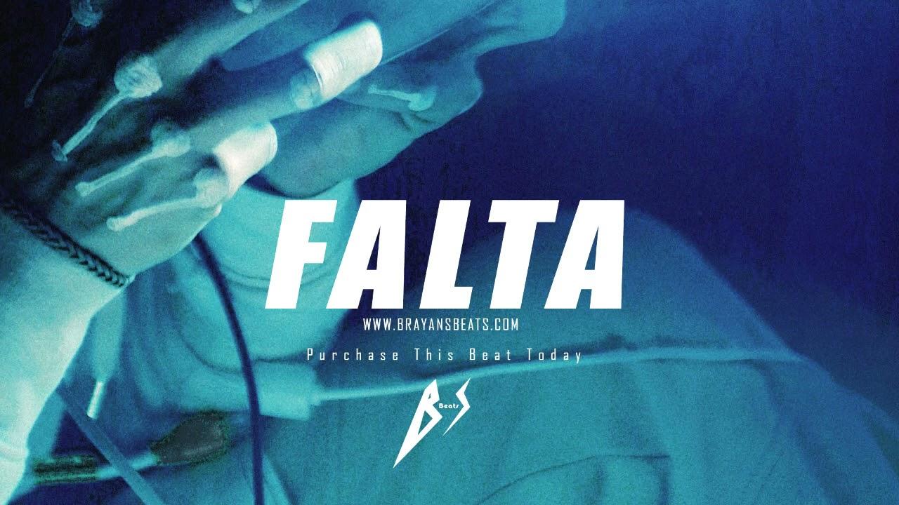 "BEAT REGGAETON  2021 | Nio Garcia Type Beat ""FALTA"""