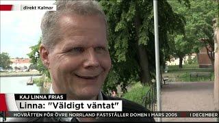 """Kaj Linna: """"Underbart att få tillbaks sitt liv"""" - Nyheterna (TV4)"""