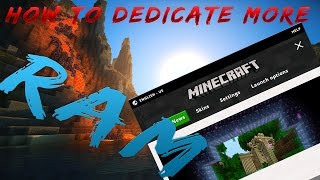 How To Dedicate M๐re Ram to your minecraft (New Launcher)