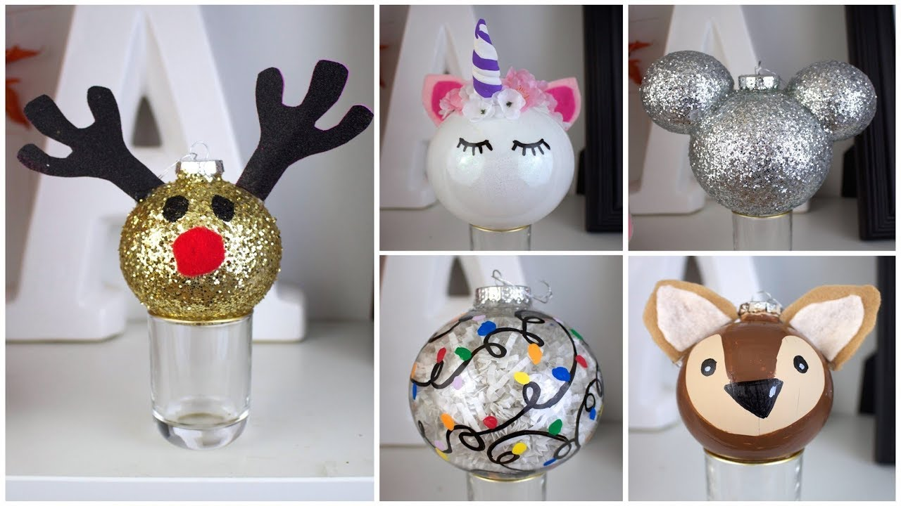 Cheap Easy Diy Christmas Ornaments Pinterest Inspired Youtube Rh Youtube Com Diy Christmas Tree Decorations