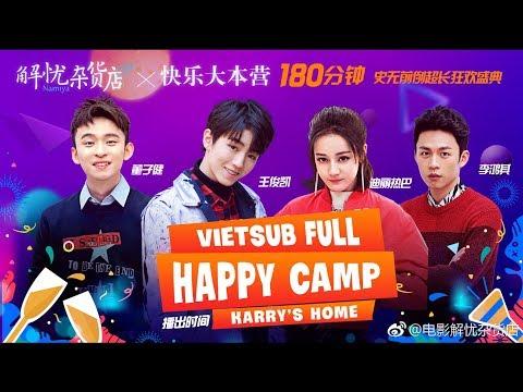 """[FULL VIETSUB] 171230 Happy Camp - Vương Tuấn Khải và đoàn phim """"Tiệm tạp hóa giải sầu"""" thumbnail"""
