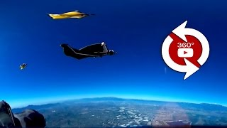 360 Camera Wingsuit Flock - 00569