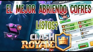 THE BEST OPENING CHESTS OF CLASH ROYALE MY FIRST BOX OF SEASON!
