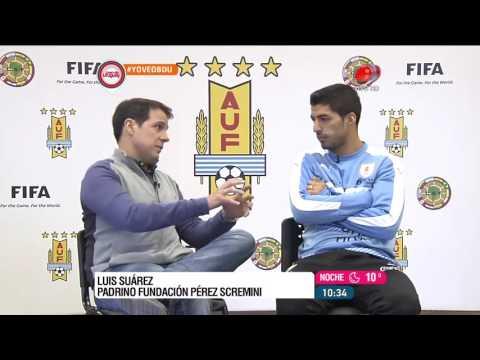 Buen día Uruguay - Luis Suárez 15 de Setiembre de 2016