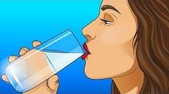 Wie viel Wasser solltest du täglich trinken?