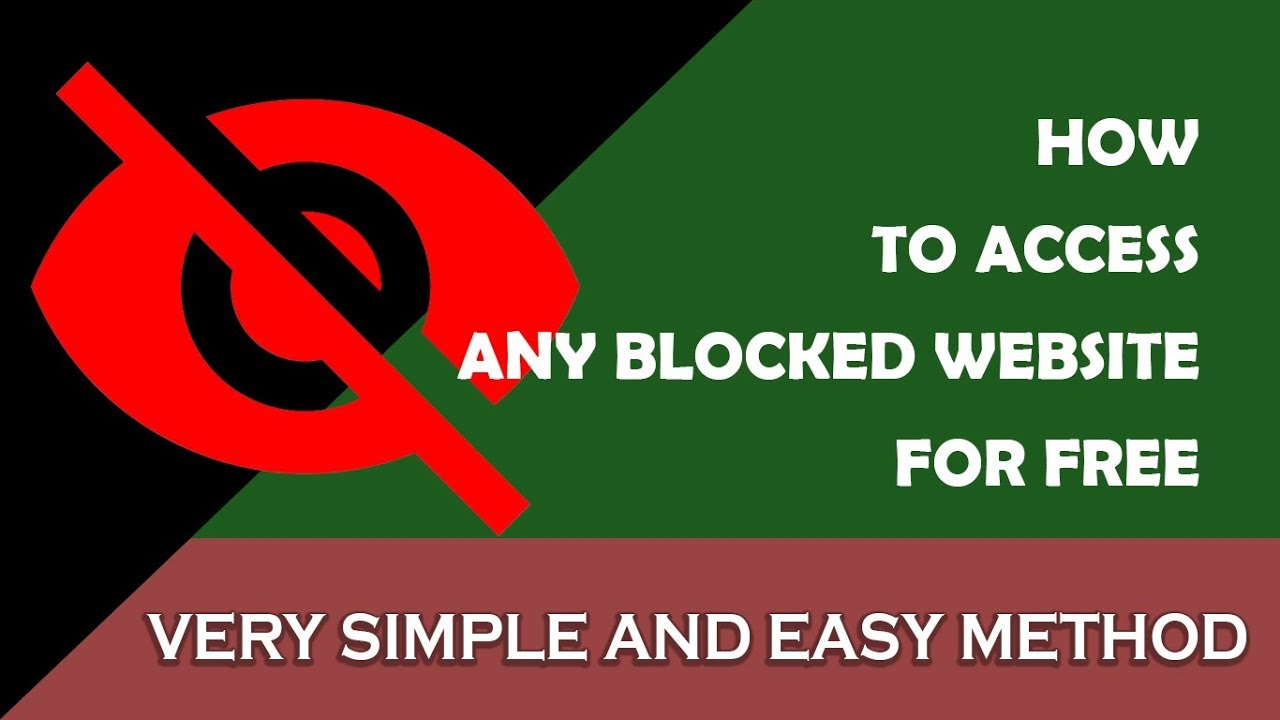 How to access blocked website for free 100 working method how to access blocked website for free 100 working method ccuart Choice Image
