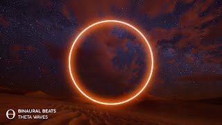 "INSOMNIA HEALING [ 7.83Hz Deep Theta ] Drifting Dunes"" Binaural Beats Sleep Music"