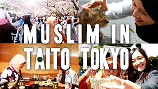 Muslim-friendly Taito City in Tokyo