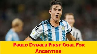Paulo Dybala vs Mexico ♚First Goal For Argentina♚ 21/11/2018