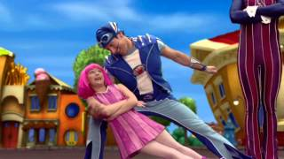 "LazyTown - ""Higher State"" Bailey feat. Jodie Connor 2.000+ Subs!!! Stephanie & Sportacus Love Video"