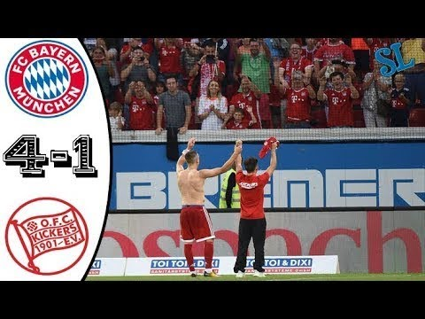 Kickers Offenbach Vs Bayern Munich 1-4 All Goals & Highlights 30-08-2017 HD