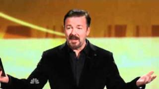 Ricky Gervais @ The Emmy Awards 2010