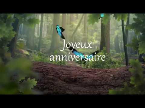 Carte 2018 Joyeux Anniversaire Youtube