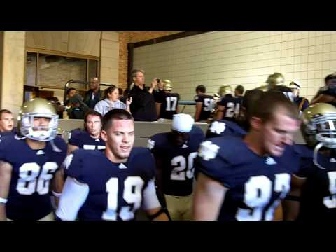 In the tunnel at Notre Dame