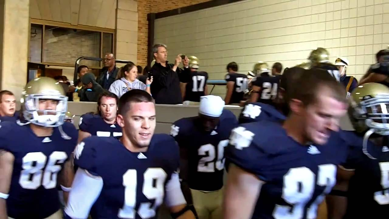 In The Tunnel At Notre Dame Youtube