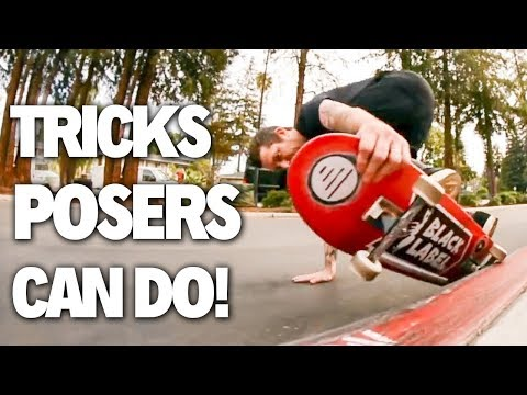 Tricks that make POSERS look PROFESSIONAL!!
