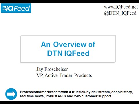 In-depth walk-through of IQFeed's API Documentation and Sample Apps