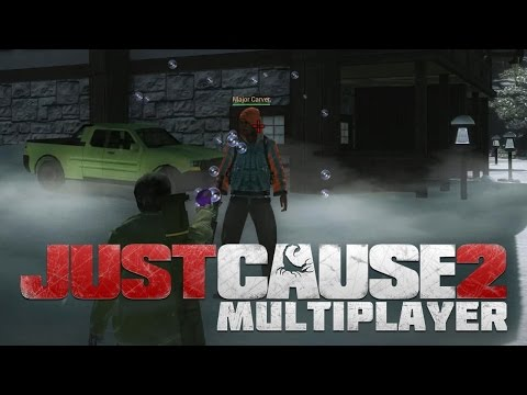 JUST CAUSE 2 MULTIPLAYER - w/ Rivet, Cartooner and Blackops - JC2MP Server Gameplay
