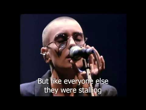Sinéad O'Connor - Feel So Different [Live 1990] HD_ Lyrics