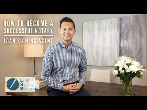 Notary Loan Signing Agent - Course & Certification