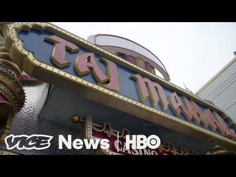 We Bought Pool Chairs At Trump's Bankrupt Taj Mahal Hotel And Casino(HBO)