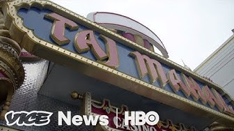 We Bought Pool Chairs At Trump's Bankrupt Taj Mahal Hotel And Casino(HBO)
