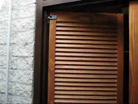 HAWGOOD spring hinges for small double action doors - YouTube