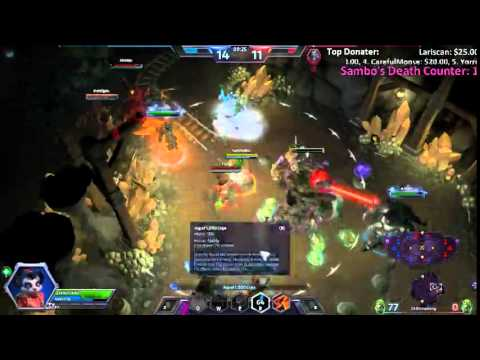 LiveStream - Heroes of the Storm | [NA/US] Playing with chatroom ( ¬‿¬)