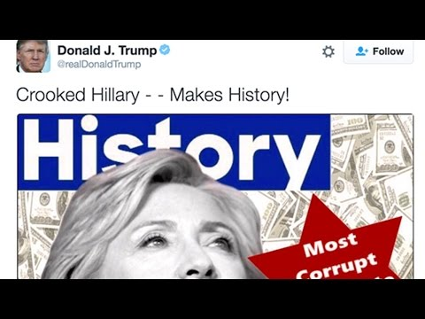 Trump Accused Of Anti-Semitic Tweet Against Hillary