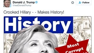 Trump Accused Of Anti-Semitic Tweet Against Hillary